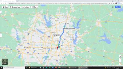 Allen TX to Dallas Zoo