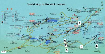 Mount Lu Day 6 Map 180320