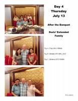 W13-180103 Doris Family after Banquet